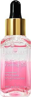 Rose Facial Serum, BREYLEE Firming Facial Oils with Hyaluronic Acid Anti-Aging Serum for Moisturizing Nourishing Face Skin...