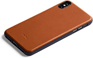 Bellroy Leather iPhone Xs Max Phone Case - Caramel