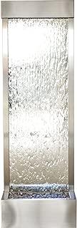BluWorld Tall 6' Stainless Steel Gardenfall with Silver Mirror