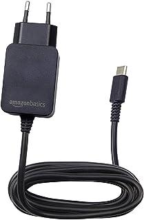 comprar comparacion AmazonBasics - Cargador CA de un solo voltaje, para Nintendo Switch (no compatible con modo TV), negro
