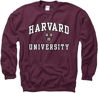 Harvard University Men's Sweatshirt-Maroon