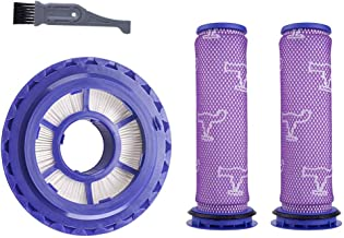 I clean Filter Kits for Dyson DC41/DC65 Vacuums, 2 Packs Pre-Filter and 1 Pack Post-Motor HEPA Filter for Dyson Animal Upright Vacuum,Replaces Part # 920769-01 & 920640-01