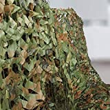 Hands DIY Tarnnetz Camouflage Netz, Multi-Größe, Jagd Sonnenschutz Tarnung Netz Woodland Armee Tarnung Net Freizeit Camping Outdoor Tarnnetz Langlebig, Hohe Qualität (2x1.5M, Camo Green)