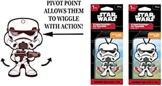 Star Wars Stromtrooper Wiggler 1 pack air freshener Dark Ice x 2 packs