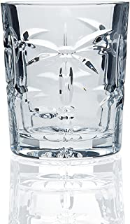 Godinger South Beach Palm Double Old Fashioned, Set Of 4