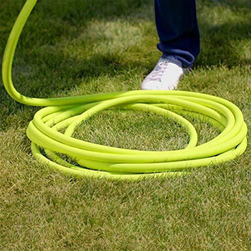 Flexzilla HFZG575YW-E Garden Lead-in Hose 5/8 in. x 75 ft, Heavy Duty, Lightweight, Drinking Water Safe, HFZG575YW