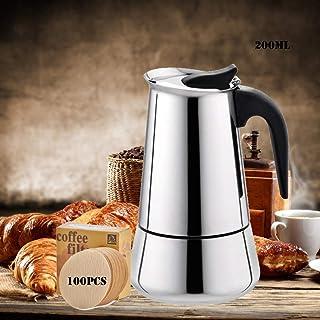 EEX Cafetera Italiana, Cafetera Moka Espressos en Acero