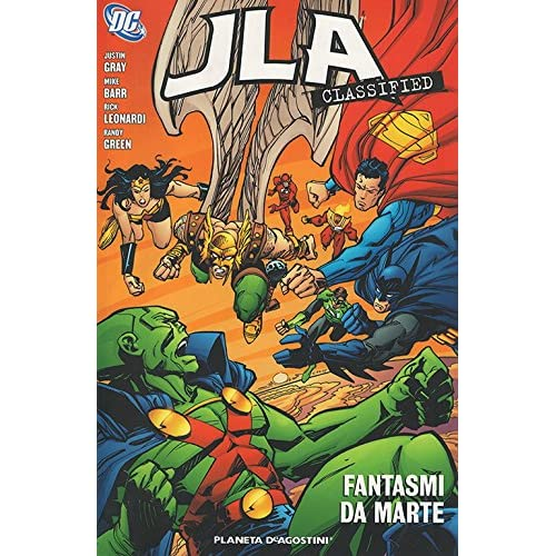 Fantasmi da Marte. JLA classified: 7