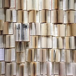 Yeele Bookcase Backdrops 7x7ft /2.2 X 2.2M Wooden Bookshelf Open Books Library Study Room Nostalgia Retro Indoor Student Adult Artistic Portrait Photoshoot Props Photography Background