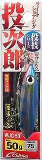 オーナー(OWNER) メタルジグ WJC-50 投次郎50 No.31996 75 ブルーバック半ゼブラ