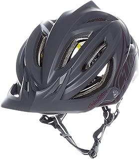Troy Lee Designs A2 MIPS Helmet Decoy Grey/Sangria, S