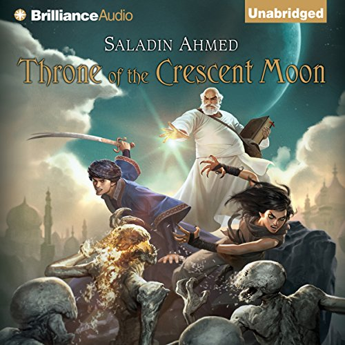 Throne of the Crescent Moon audiobook cover art