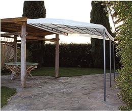 QUICK STAR Tetto di Ricambio per Tenda da Parete pergola 3x4m Antracite
