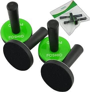 FOSHIO 4PCS Green Car Vinyl Wrap Gripper Magnet Holder Tints Tool Refrigerator Magnets