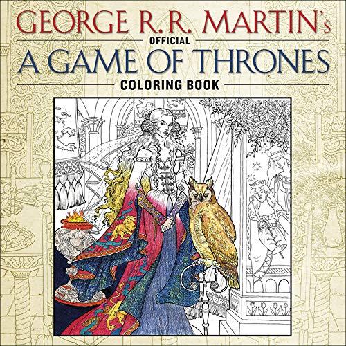 Game of Thrones, cahier de coloriages officiel