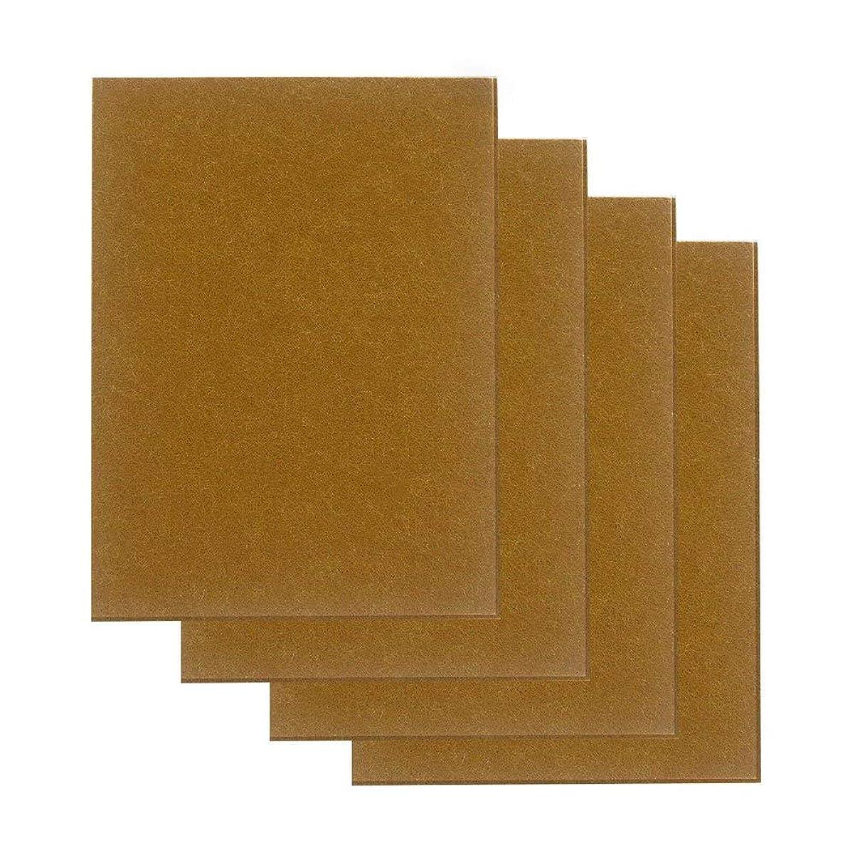 石化するマントアスペクトAutra フェルトシート 大判15cm×20cm 厚さ4mm セルフ粘着 床のキズ防止 家具保護パッド 4枚入