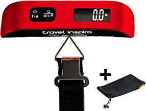 travel inspira Digital Luggage Scales with Overweight...
