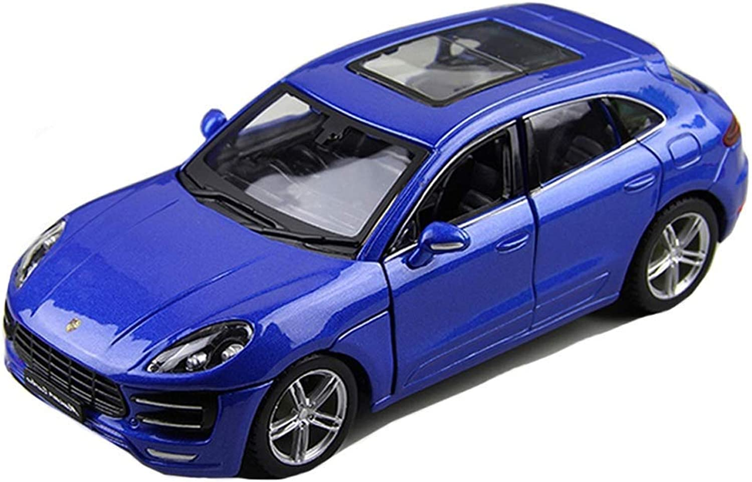 GBY Die Casting Model Car  Simulation alloy toy car model static car model collection decorative alloy car model 1 24 Alloy model car ( color   bluee )