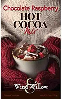 Wind & Willow - Chocolate Raspberry Hot Cocoa - Mix 4.6 Ounces - Makes 4 Services…