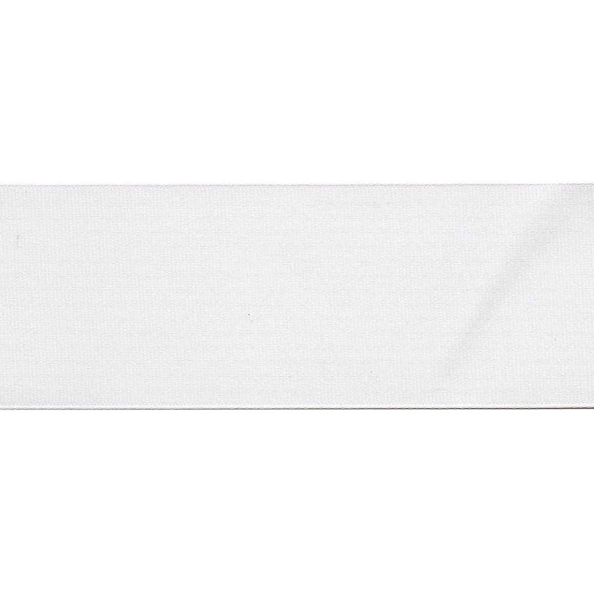 Offray Grosgrain Craft Ribbon, 2 1/4-Inch x 9-Feet, White