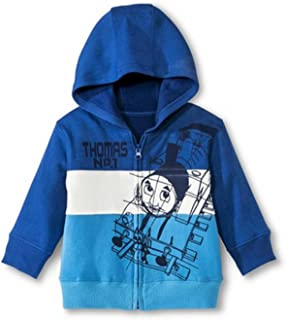Thomas The Train Baby Boys' Infant Zip-up Hoodie - Blue