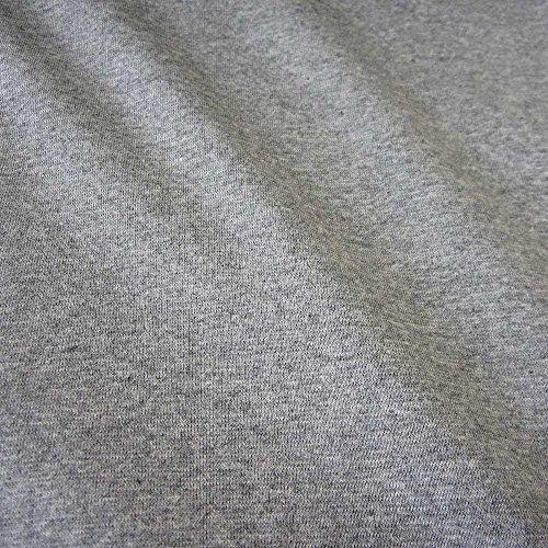 Stoff Meterware Bündchen Bündchenstoff Schlauchware Jersey Uni grau meliert Preis pro Meter