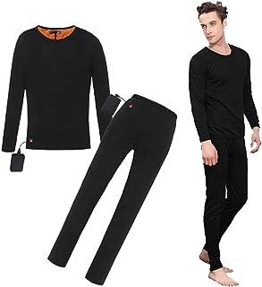 para hombres Mount Swiss/© ropa interior de esqu/í respirable. Conjunto de ropa interior t/érmica Moto
