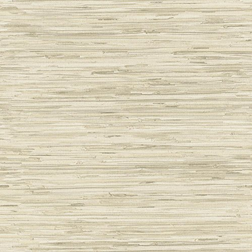York Wallcoverings GX8220 Passport Grasscloth Wallpaper, Beige/Cream/Mocha Brown