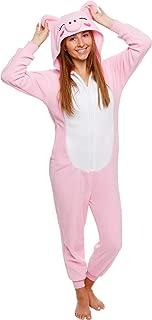 Slim Fit Animal Pajamas - Adult One Piece Cosplay Pig Costume