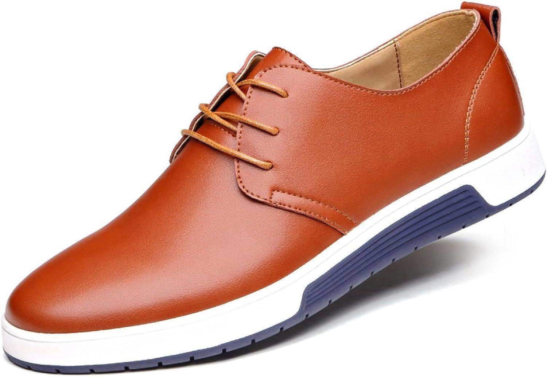 Men Casual Men's shoes Leather Breathable shoes Men's shoes