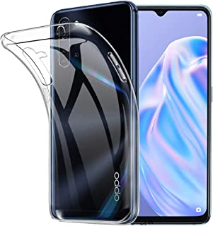 for OPPO Reno3 A 専用ケース for OPPO Reno 3A 専用カバー クリア TPU透明保護 ソフト シリコンケース 薄型 落下防止 衝撃吸収 耐衝撃 柔らかい手触り クリア for OPPO Reno3 A 専用全面保護...