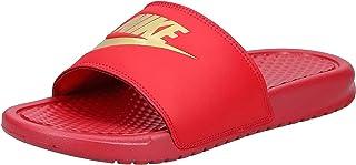 Nike Men's Benassi Just Do It Print Beach & Pool Shoes, (Black/Summit White 013), 6 UK,631261-013