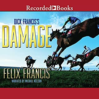 Dick Francis's Damage audiobook cover art