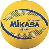 ミカサ(MIKASA) カラーソフトバレーボール 円周78cm(イエロー) MSN78-Y Y 円周78cm