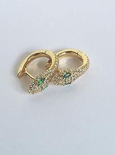 Snake Earrings, Lizard Earrings, Small Snake Earrings, Small Women Earrings, Golden Lizard Earrings