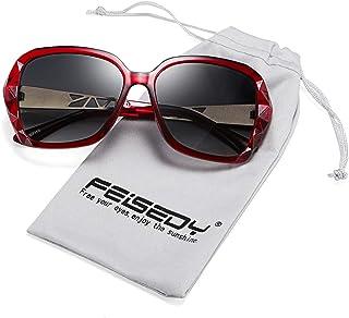 FEISEDY Classic Polarized Women Sunglasses Sparkling...
