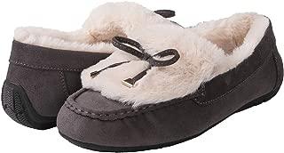 GLOBALWIN Women's Winter Indoor Outdoor Faux Fur Lined Slippers