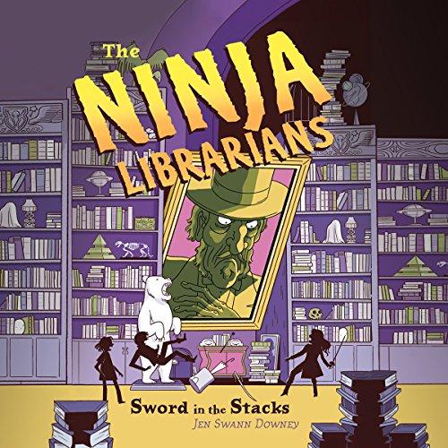 The Ninja Librarians: Sword in the Stacks copertina