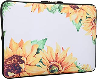 Lapac Sunflower Laptop 13-13.3 Inch Sleeve Bag, Water Repellent Neoprene Light Weight Notebook Computer Skin Bag, Notebook...
