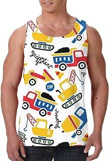 Men's Sleeveless Undershirt Summer Sweat Shirt Beachwear - Wind Musical Instruments