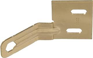 Hillman Hardware Essentials 852989 Bi-Fold Door Aligner Brass