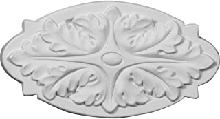 Ekena Millwork ONL15X09X01SE 15-Inch W X 9 1//4-Inch H X 1 1//8-Inch P Sea Shell Center Onlay