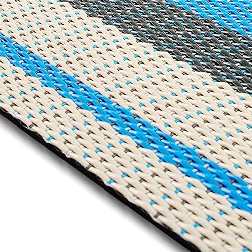 casa pura Design Bodenschutzmatte Ravenna in 6 Größen   dekorative Unterlegmatte für Bürostühle oder Sportgeräte (120 x 90 cm)