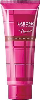 アートネイチャー LABOMO(ラボモ) 白髪染め スカルプアロマ ヘアカラートリートメント ヌーボー 【時短 美容保湿成分】 フローラルアロマの香り (ブラウン)