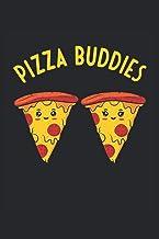 Pizza Buddies: Pizza amigos graciosas pizzas lindas pareja regalos cuaderno forrado (formato A5, 15, 24 x 22, 86 cm, 120 p...