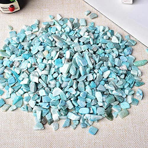 Collezione 50g Natural Rose Quartz Bianco Crystal Rock Mineral Specymene Healing può Essere utilizzato per Aquarium Reiki Stone Decoration Home Decoration (Color : Tianhe Stone, Size : 50g)
