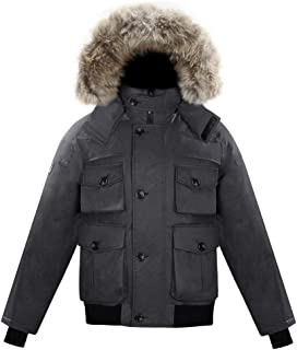 Triple F.A.T. Goose Rockland Mens Down Jacket   700 Fill Power