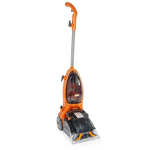 Vax VRS5W Rapide Spring Carpet Washer, Cleaning Width 25 cm, 500 W - Orange