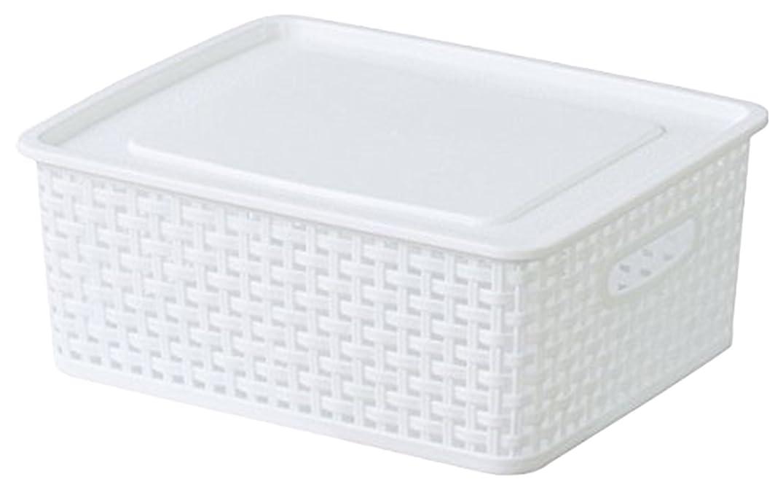 東谷 AZUMAYA  アミー ボックス S W36×D30×H13.5cm ホワイト