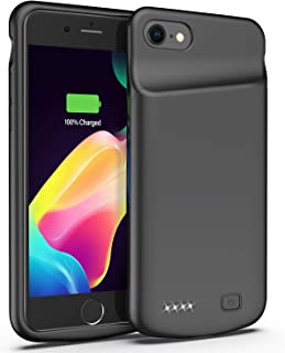 Battery Case for iPhone 6/6s, 4500mAh Portable Extended Smart Battery Pack and Protective Charger Case Updated Version (Black)